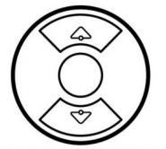 Накладка выкл. жалюзийного  Legrand Celiane Сл. кость (арт.66290)