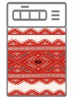 Наклейка на посудомоечную машину -  Украинский рушничок
