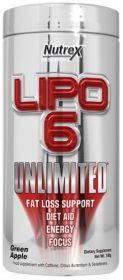 Nutrex Lipo-6 Unlimited Powder (60 порций)