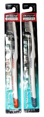 3-х рядная зубная щетка для профилактики периодонтита Lion.