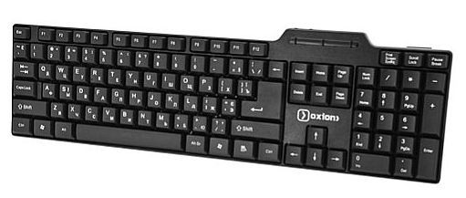 Клавиатура проводная OXION OKB002BK Ergo Plus