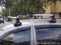 Багажник на крышу Datsun Mi-Do, Атлант, аэродинамические дуги