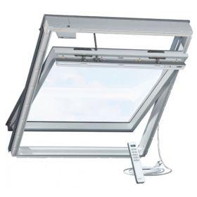 Мансардное окно Velux GGU 007021 INTEGRA с дист. упр. белое влагостойкое