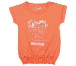 Купить майку оранжевую для девочки