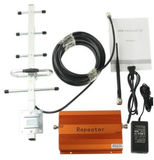 Усилитель сигнала GSM Repeater TD-980 (500 м2) - комплект