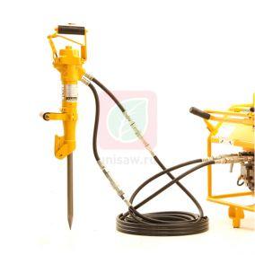 Гидромолоток отбойный BH112, ручной (кирка в комплекте)