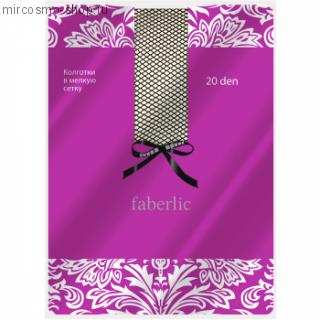 Эластичные колготки сетка, цвет дымчатый, 20 den