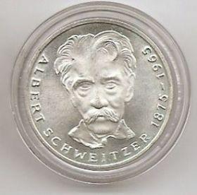 100 лет со дня рождения Альберта Швейцера 5 марок Германия 1975 G