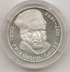 200 лет со дня смерти Карла Фридриха Гаусса 5 марок Германия 1977 J