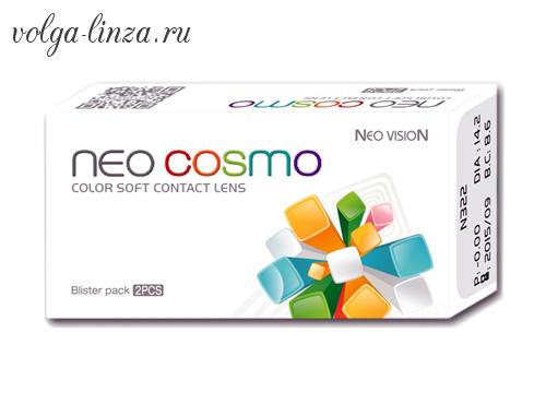 Neo Cosmo Two Tone- цветные двухтоновые линзы на 3 месяца