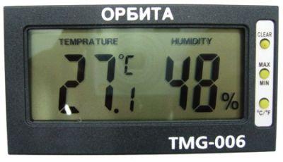 Термометр-гигрометр Орбита TMG-006