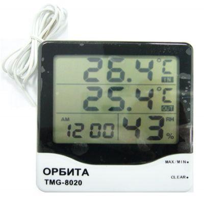 Термометр-гигрометр Орбита TMG-8020
