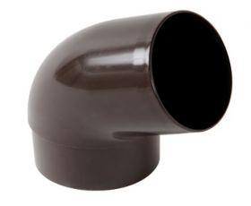 Отвод 67 градусов 2-х муфтовый Nicoll