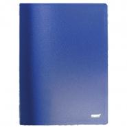 Папка с бок.прижимом Proff CF901-04 синяя 0.6мм