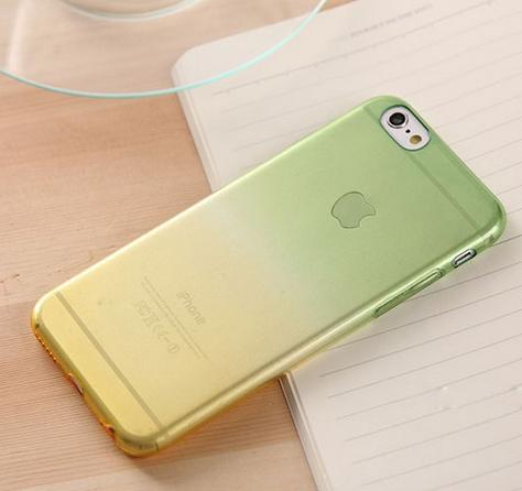 Полиуретановый чехол Superslim для iPhone 6  (G&Y)