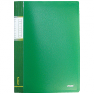 Папка с пр.вставк./30 Proff  DB30АВ-03 зеленая..0,65мм