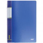 Папка с пр.вставк./30 Proff  DB30АВ-04 синяя 0,65мм