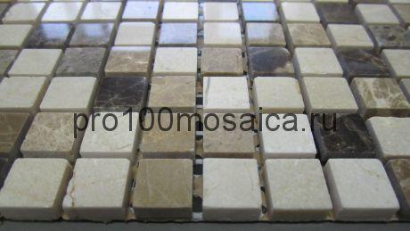 Turin 15 slim MAT камень. Мозаика серия STONE,  размер, мм: 305*305*4 (BONAPARTE)