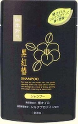 Японский шампунь для сухих и поврежденных волос с экстрактом чёрной камелии Deev Shiki-Oriori