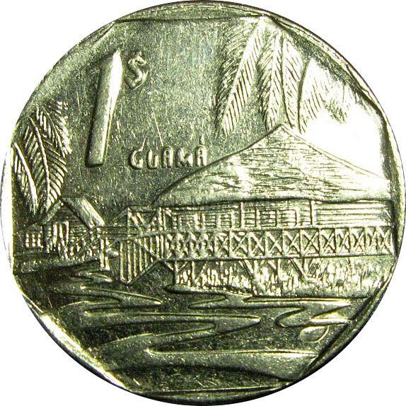 Куба 1 песо 2007 г.