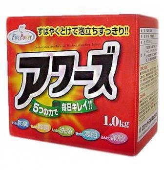 Японский стиральный порошок с антибактериальным эффектом FIVE POWER AWARS Rocket Soap