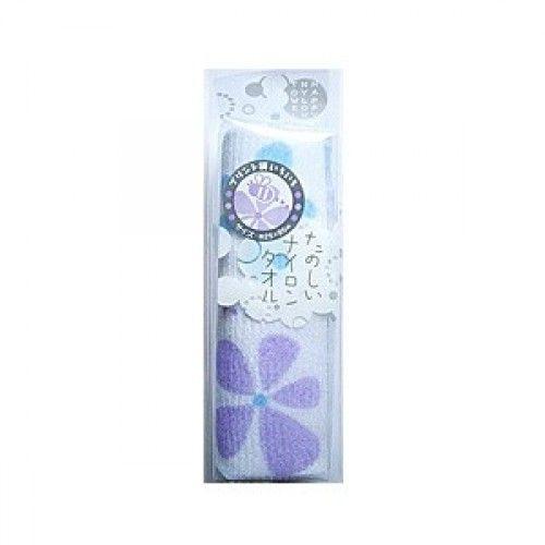 Японская массажная мочалка детская Цветок Aisen