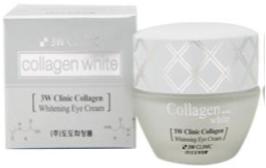 Корейский осветляющий крем для кожи вокруг глаз Whitening Eye Cream 3W Clinic
