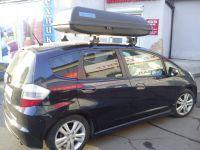 Багажник на крышу Honda Jazz, Атлант, прямоугольные дуги