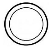 Накладка датчика для терморег. Legrand Celiane белая(арт.68243)