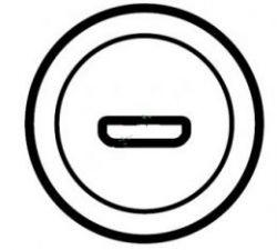 Накладка аудио-видео розетки Legrand Celiane HDMI белая(арт.68216)