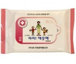 Корейские влажные салфетки Ai - Kekute CJ Lion