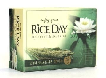 Корейское мыло туалетное Rice Day Лотос CJ Lion