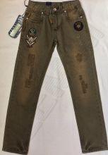 джинсы BAMBINI KIDS темно-зеленые