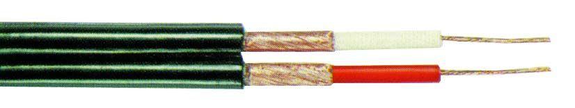 TASKER C121 Кабель сдвоенный несимметричный 2х0.25 мм2