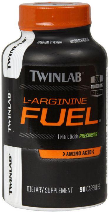 Twinlab - L-Arginine Fuel 500 mg (90 капс)