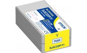 Картриджи различных цветов для Epson TM-C3500 (SJIC22P)