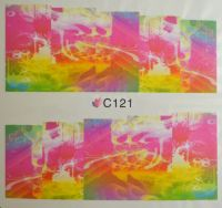 Водная наклейка для дизайна ногтей С121