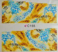 Водная наклейка для дизайна ногтей С 155