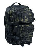 Рюкзак тактический US Assault LG Laser Cut 50 л MultiCam Black
