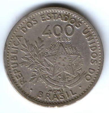 400 рейс 1901 г. Бразилия