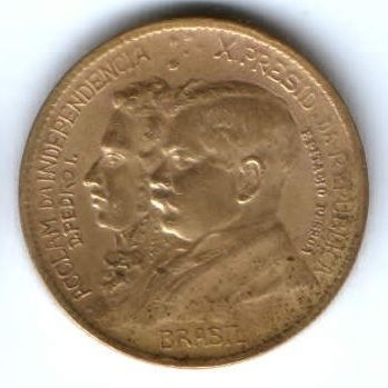 1000 рейс 1922 г. Бразилия