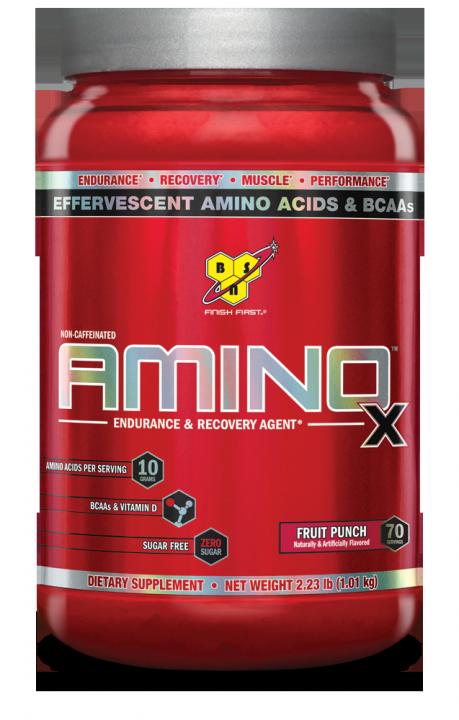 BSN Amino-X 70 serv 2,23lb (1,01кг.) - Fruit Punch - фруктовый пунш скл2 1-2 дня