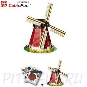 CubicFun. 3D пазлы. Мини серия. Голландская мельница