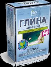 Глина сухая белая Анапская, 100 гр