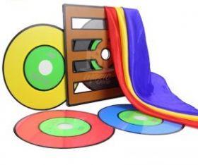 Изменение цвета дисков