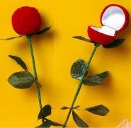Коробочка для кольца - роза