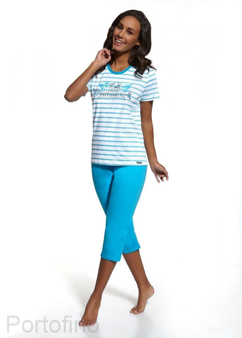 624-42 Cornette пижамка женская футболка и бриджи