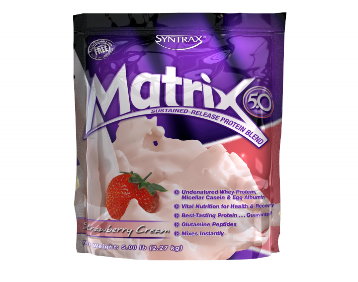 SYNTRAX Matrix 5.0 (2,27кг.) - клубника