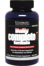 Ultimate Nutrition Daily Complete Formula (180 табл.)