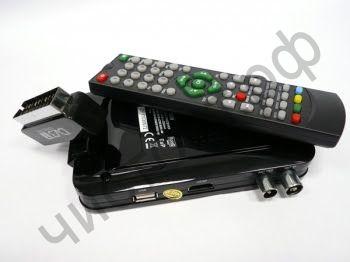 HD мультимедиа плеер+Цифровой приёмник DVB-T HD909 воспр.с USB флеш,HD,выход Scart+HDMI,пульт